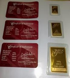 PUBLIC GOLD BAR - 24k