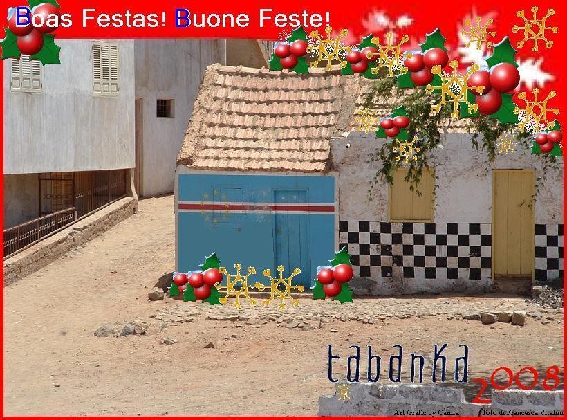 Tabanka onlus vi augura Buone Feste!!!!