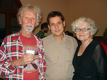 poets Phil Hammiel, Adam Aitken and Julie Chevalier
