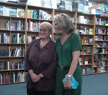 poet Jill Jones and writer Debra Adelaide