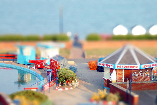 Tilt-shift photography photos