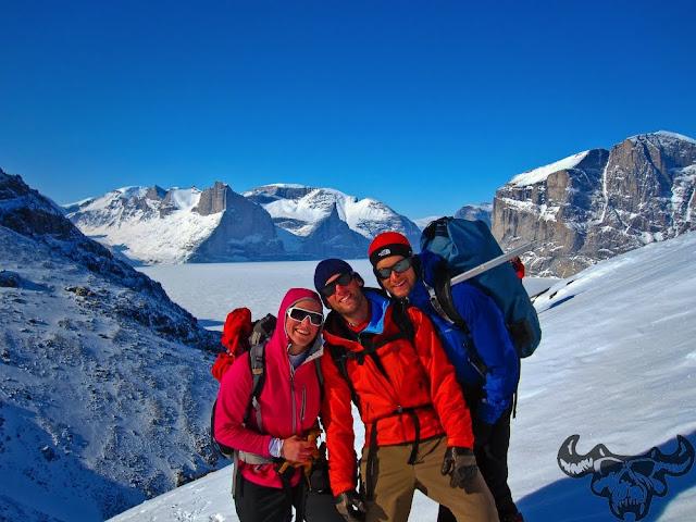Team ILL Vision, Katie Hansen, BASE jumping Baffin Island