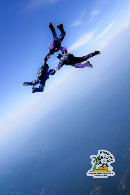 The Harry Parker, Jump IN, Skydive New England