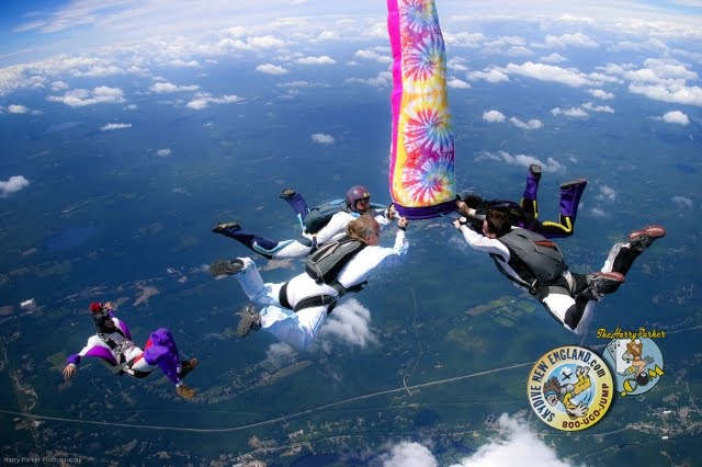 Skydive New England, Harry Parker Photography