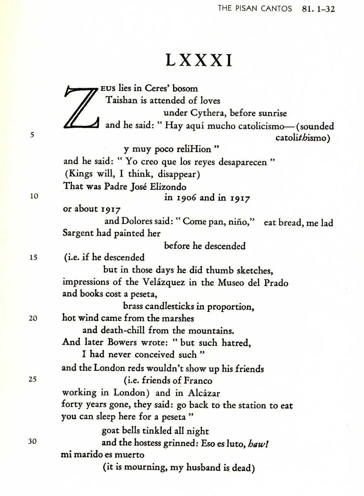 I Cantos di Ezra Pound non sono ancora disponibili in ebook. La formattazione è complessa ma non impossibile. In ogni caso i testi poetici pubblicati nel 2013 sono raddoppiati rispetto all'anno precedente.