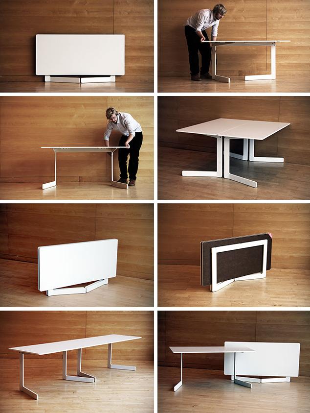 design log foldable furniture fixation