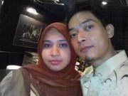 with my hubby