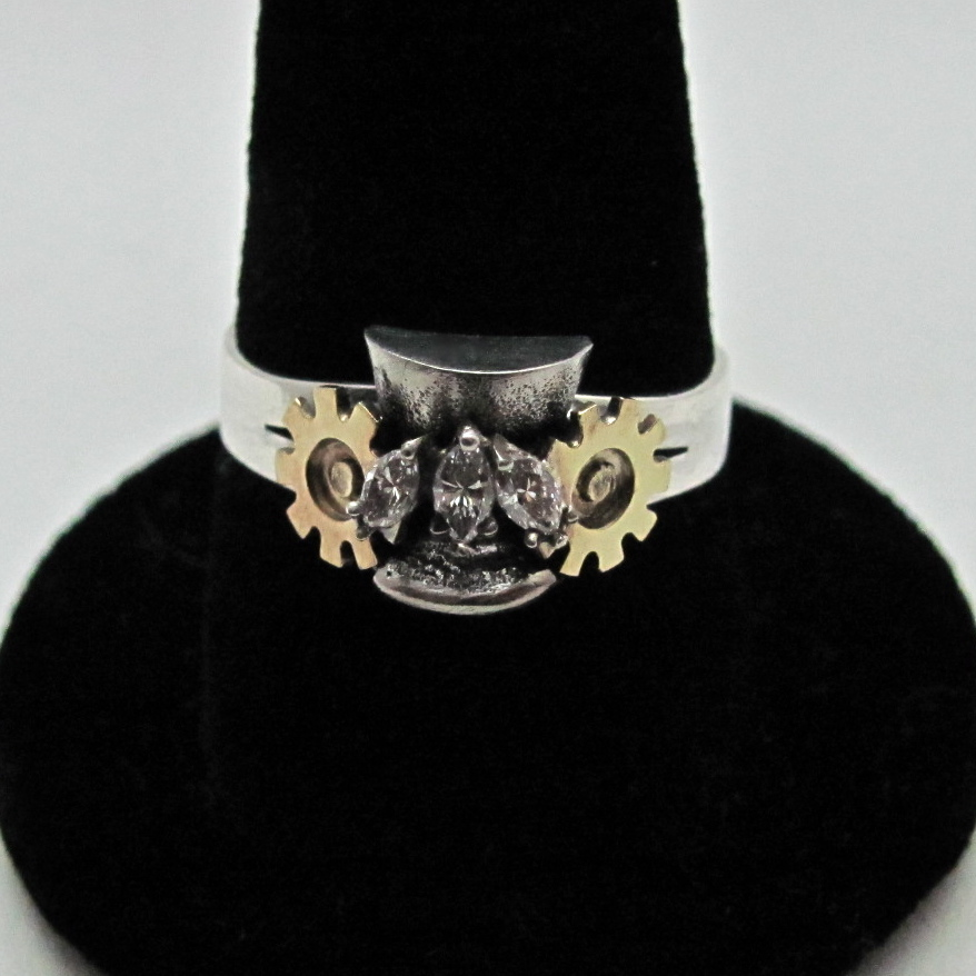 steampunk wedding ring - Steampunk Wedding Rings