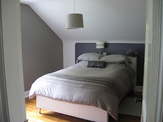 updated bedroom after picture