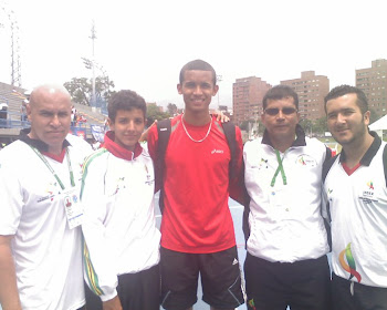 RAFITH RODRIGUEZ RECORD NACIONAL Y CAMPEON SURAMERICANO DE 800 METROS