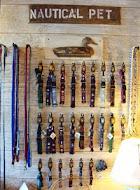 Nautical Pet collars & leashes at Skipjack