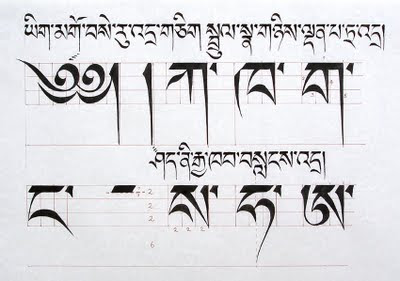 Related tibetan scripts august 2009