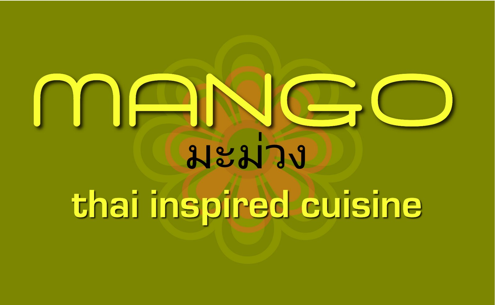 MANGO-thai inspired cuisine