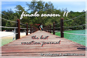 FINALE SEASON: THE BEST VACATION JOURNAL.