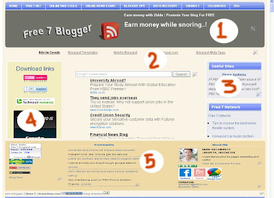 free 7 blogger template 2