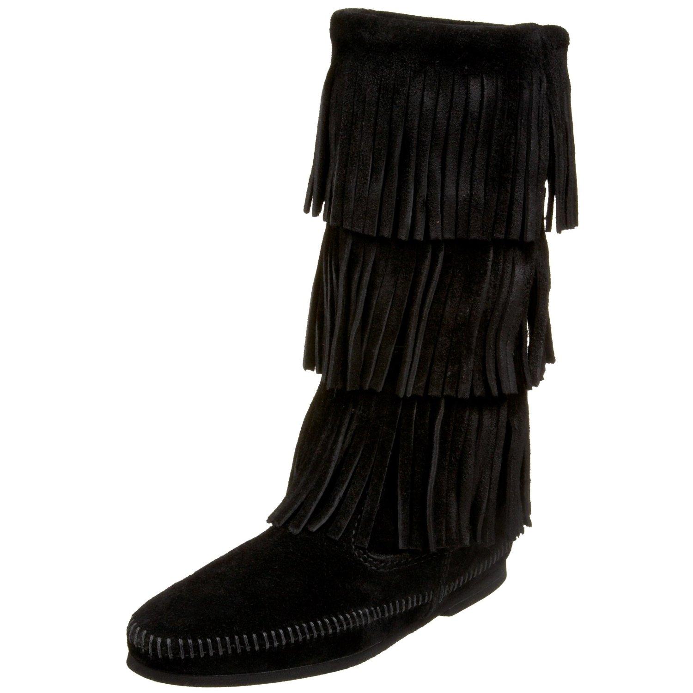 minnetonka black boots minnetonka black boots