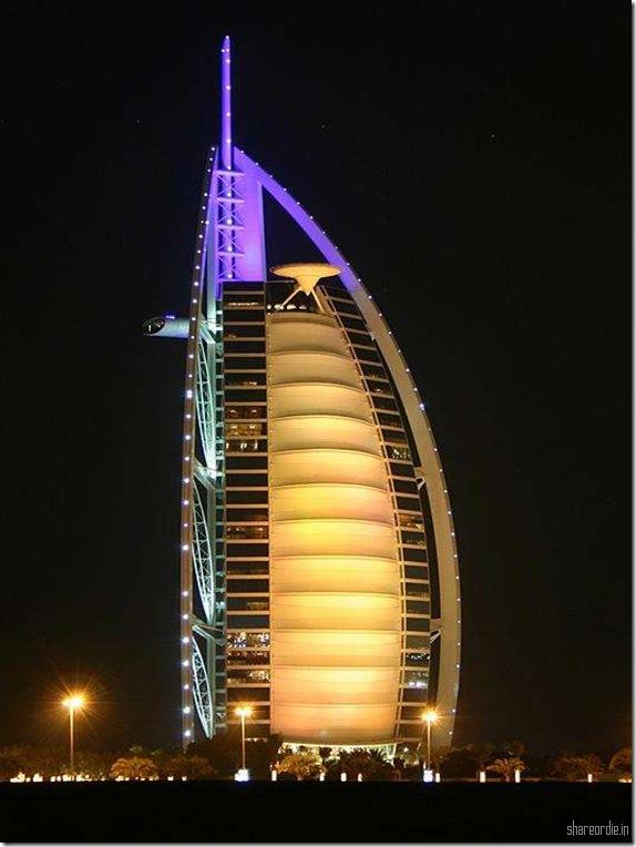 Successful construction interior of burj dubai 7 star hotel for Dubai hotel 7 stars