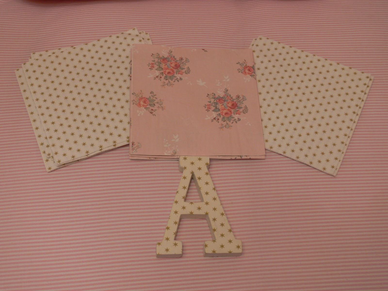 Las casitas de papel letras letters - Papel decoupage infantil ...