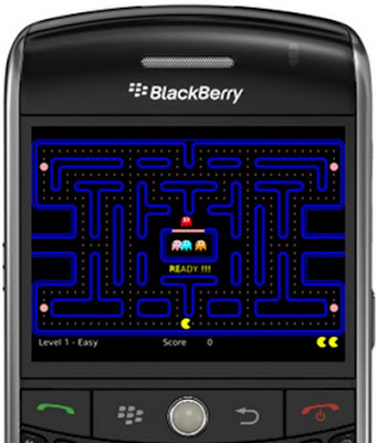 Pacman Blackberry Tip at Gadget Help