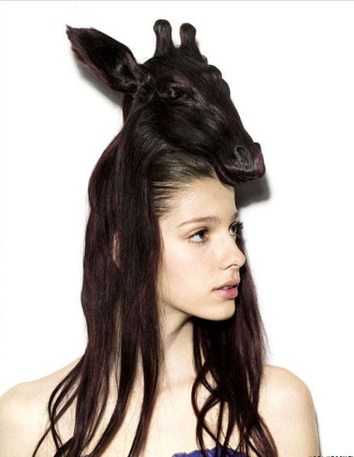 Cool Anime Hats Bizarre Animals Hair Hats