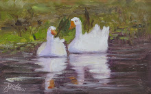 Study of Grisham Geese on Dora