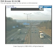 M25 West Web Cam at Godstone ( Towards Reigate)