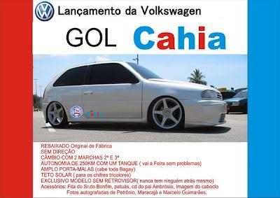 Novo Lançamento da Volkswagen: Novo Gol Cahia