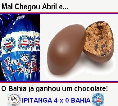 Jahia rece seu chocolate!