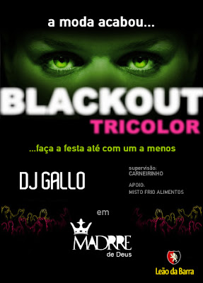 Blackout Tricolor