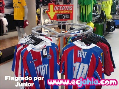 Camisas do Bahia