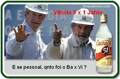 Vitória 5 x 1 Jahia