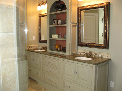 Life In The Slow Lane Master Bath Remake Delectable Bathroom Countertop Height Painting