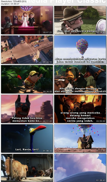 Download Film Up 2009 DVDRip Subtitle Indonesia Berkelana dengan rumah balon
