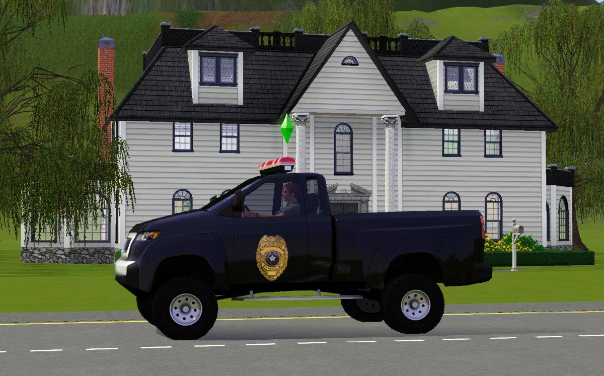 Police captain truck