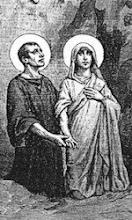Crisanto y Daría esposos mártires
