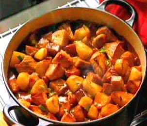 Receta para preparar Estofado de carne de Soya