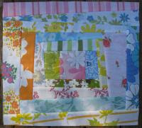 Vintage Sheet Quilting Bee