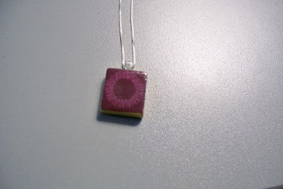 scrabble necklace tiles