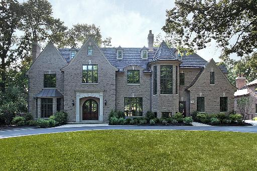 English Tudor New Build In Highland Park IL Luxury Dreaming