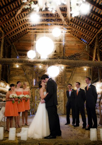Robinson had to say about her Tulsa Wedding Reception at The Barn