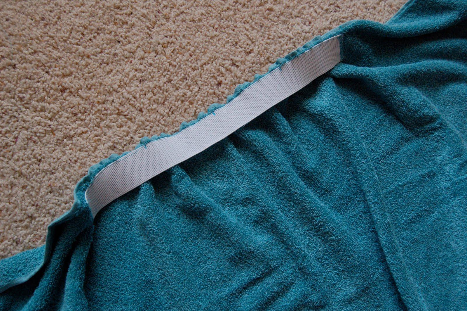 Превращение полотенца: необычный вариант для ванны или