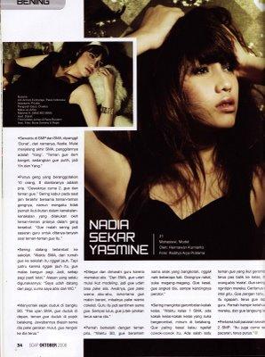 Nadia yasmine speciale marriage 2010 r