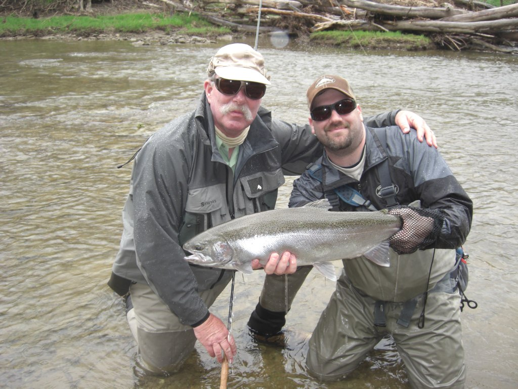 Steelhead alley outfitters lake erie fly fishing guide for Lake erie fish