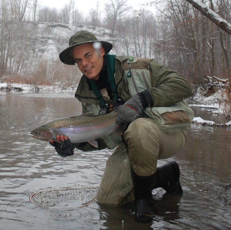 Steelhead alley outfitters lake erie fly fishing guide for Snow bear ice fishing