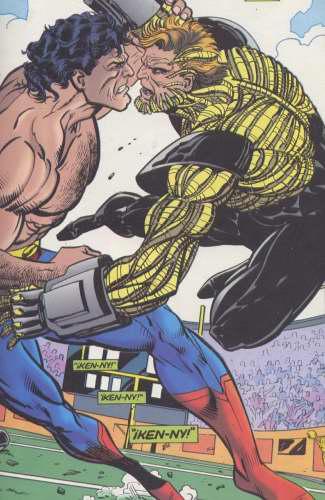 La muerte de Clark Kent Nhyt