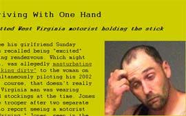 Homem de calcinha e meia-calça é preso nos EUA