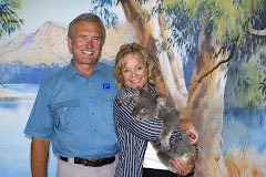 Ron & Karen at the Koala Sanctuary