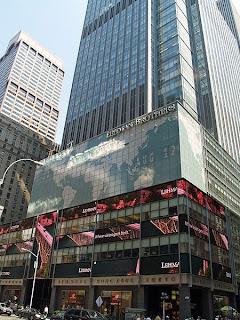 Lehman Brothers vuonna 2007, kun yritys oli vielä pystyssä (Wikimedia Commons)