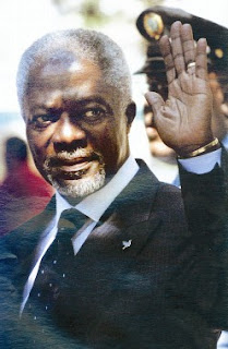 Good riddance to you, Kofi Annan