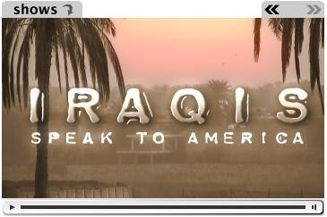 Vent-Iraqis Speak to America